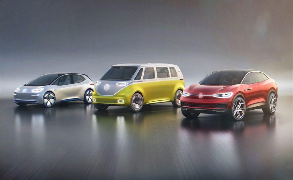 ID Buzz, volkswagen electric range, electric cars, VW ID Buzz, ID Crozz,