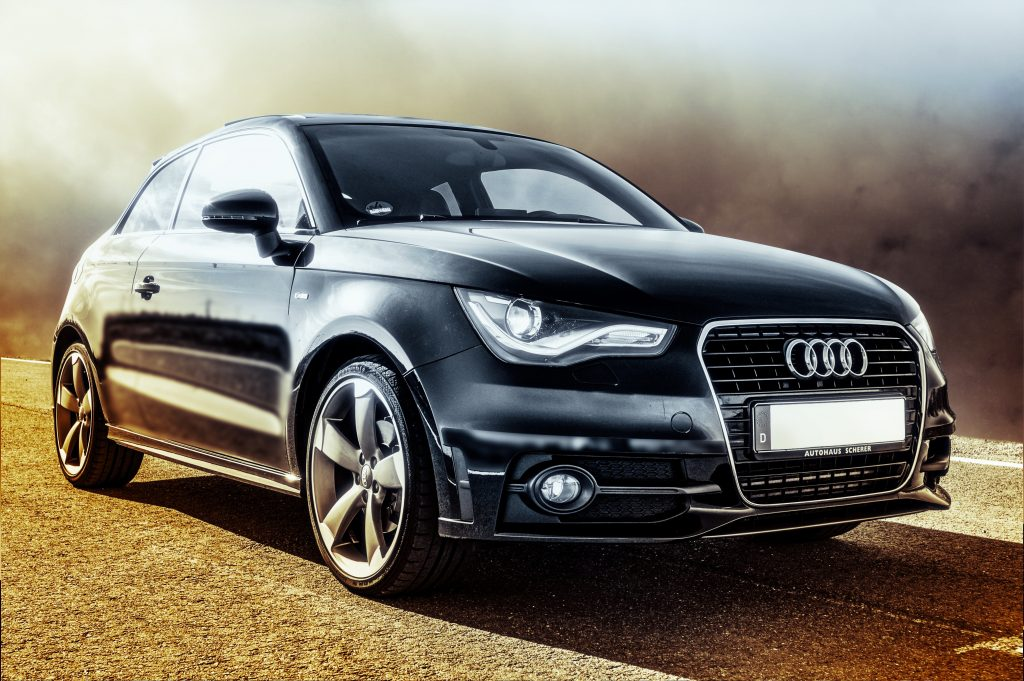 Audi mechanics display a new audii